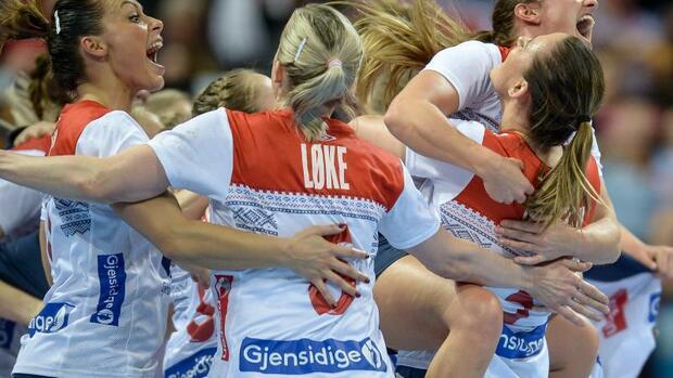 Handball: Norwegens Handball-Frauen im WM-Finale gegen Frankreich