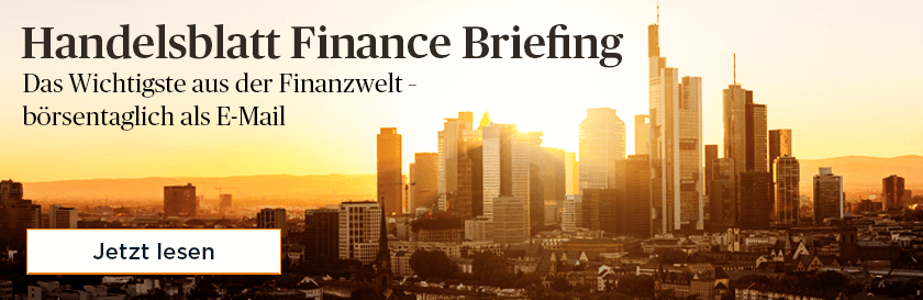 Finance briefing
