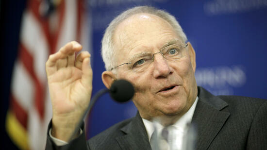 Finanzminister Schäuble in Washington