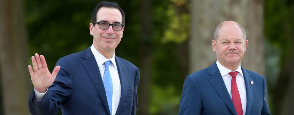 Industriestaaten wollen sich auf Steuern für Internetriesen verständigen