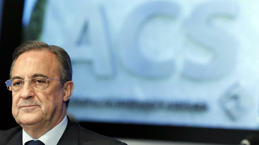 ACS-Chef Florentino Perez. Quelle: Reuters