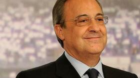 Florentino Perez. Foto: Bongarts/Getty Images Quelle: SID