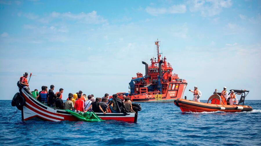 Spanien Migranten