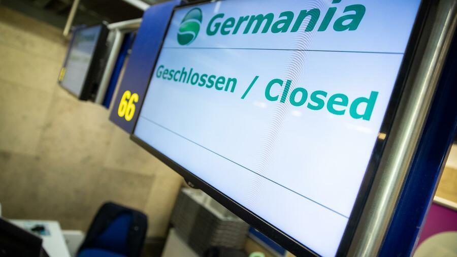 Germania-Insolvenz: 100 Piloten der Pleite-Airline sollen eine Million Euro zahlen