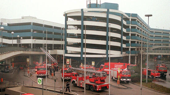Flughafenbrand Düsseldorf