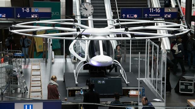 Der Hype um Flugtaxis ist zwar übertrieben, aber sinnvoll