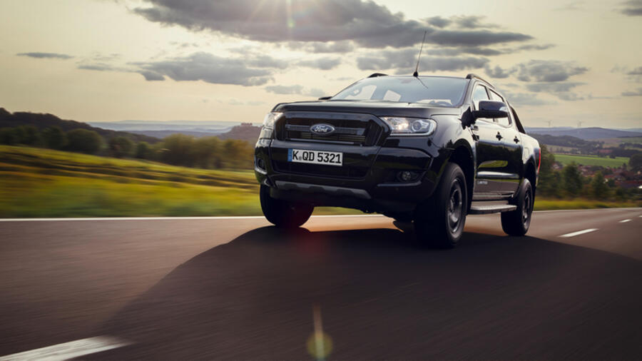 Ford Ranger Black Edition - Kompletter Chrom-Verzicht Quelle: Ford