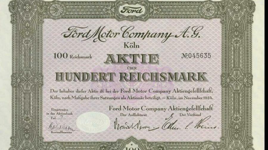 Ford Aktien