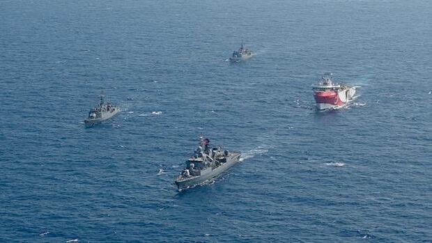 Gasvorkommen: Erneute Eskalation im Mittelmeer: Die Türkei fordert Griechenland und das Seerecht heraus