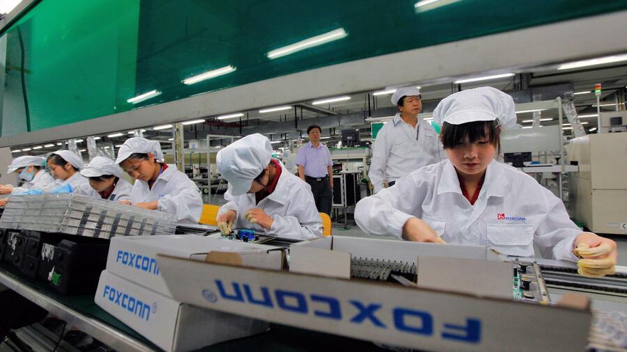 Apple-Zulieferer Foxconn entlässt 50.000 Mitarbeiter