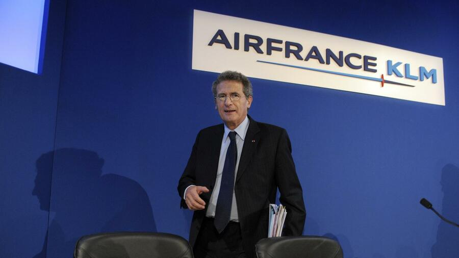 Air France-KLM-Chef Jean-Cyril Spinetta. Quelle: AFP