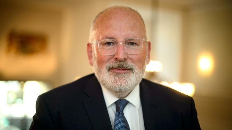 """Frans Timmermans: """"Europa kann bei Wasserstoff weltweit führend werden."""""""