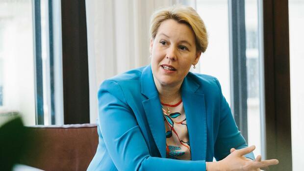 """Geplante Frauenquote: Franziska Giffey: """"Kein männliches Vorstandsmitglied wird entlassen"""""""