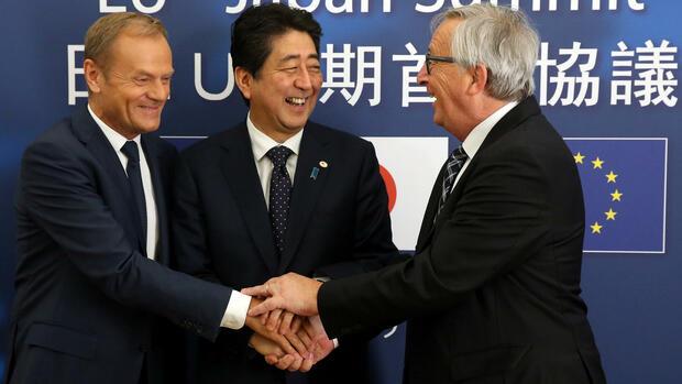 EU und Japan einigen sich auf Freihandelspakt
