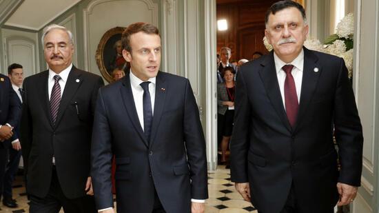 Libyen-Spitzentreffen bei Macron geplant