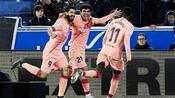Fußball: FC Barcelona kurz vor der Meisterfeier - 2:0 gegen Alavés
