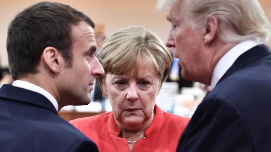 Wasserwerfer und Krawalle vor G20-Treffen