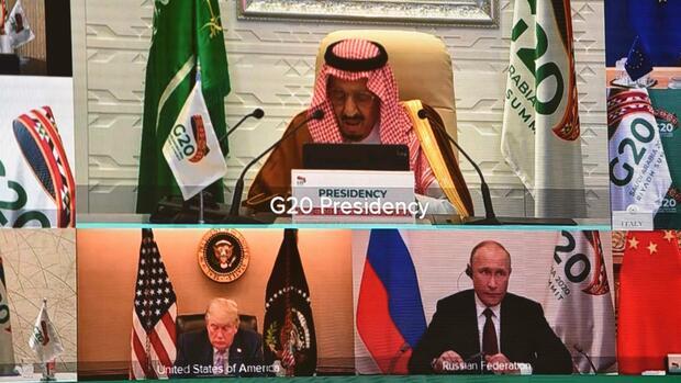 G20-Staaten belassen es bei Lippenbekenntnissen