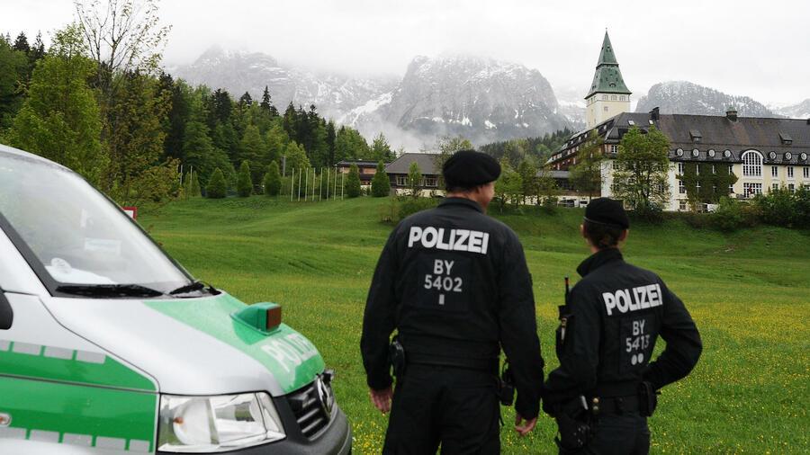 g7 treffen elmau kosten Niederrhein