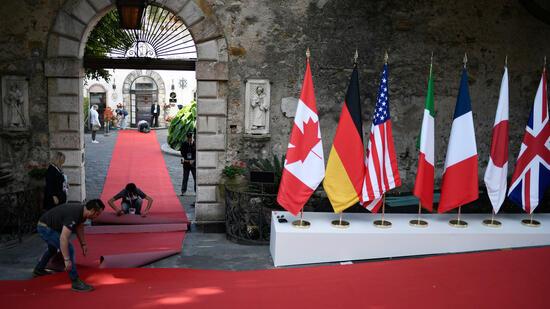 G7-Gipfel: Trump will mehr Geld für Kampf gegen Terrorismus