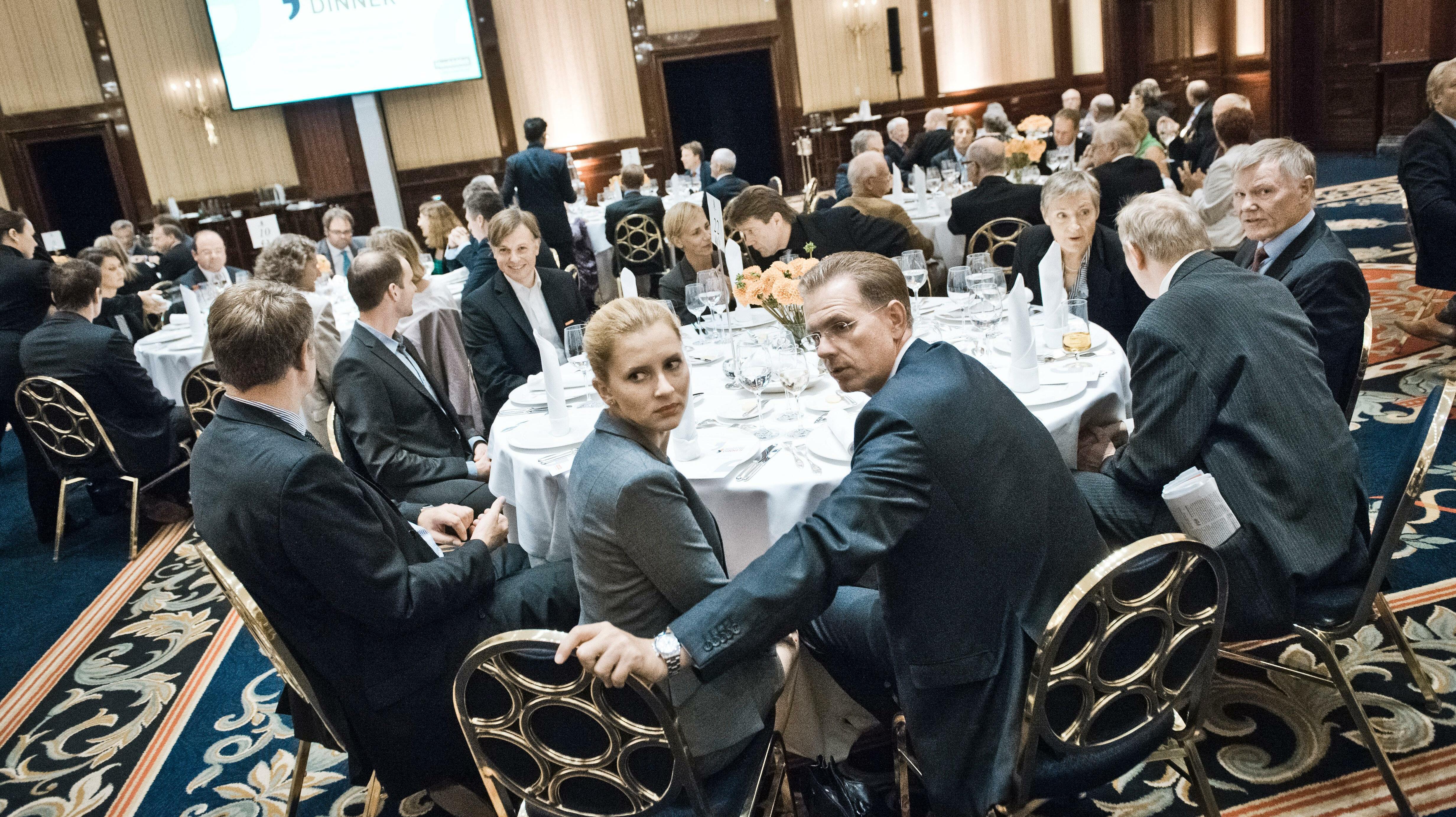 """Impressionen vom Deutschland Dinner: """"Wir sind keine Partei der Abenteurer"""""""