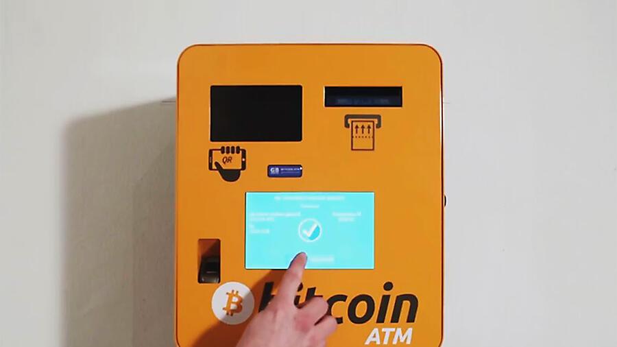 Wie man einen Bitcoin ATM benutzt