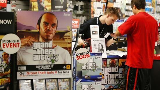 """Grand Theft Auto V"": Action-Spiel knackt die Milliarden-Dollar-Marke"