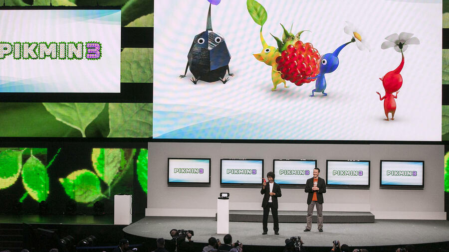 Präsentation der Wii U in Los Angeles. Quelle: dapd