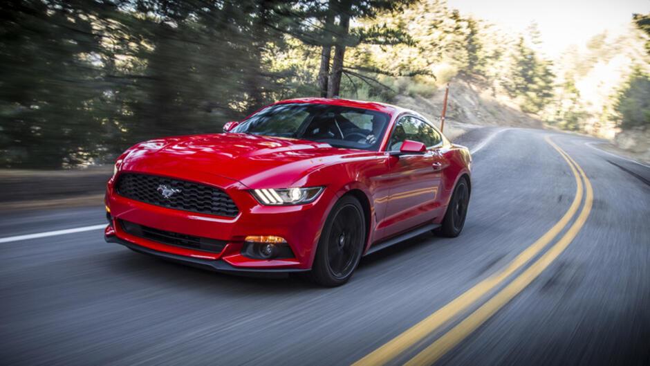 Ford Mustang Gt Technische Daten