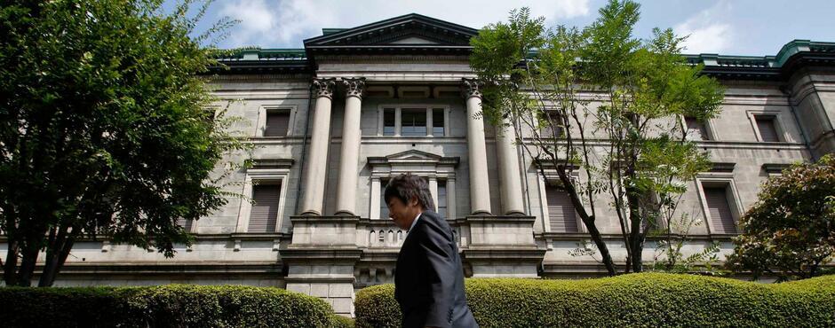 Die geldpolitische Entscheidung der japanischen Notenbank steht an ...