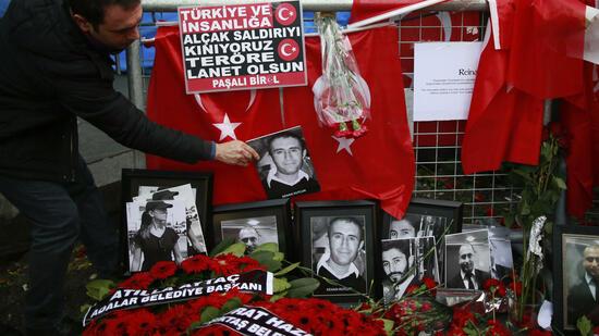 Istanbul: Türkei fasst mutmaßlichen Silvester-Attentäter