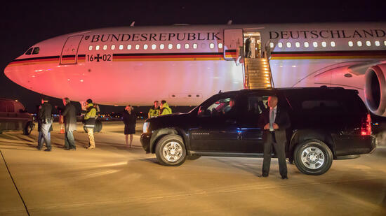 Ivanka Trump bedankt sich bei Merkel
