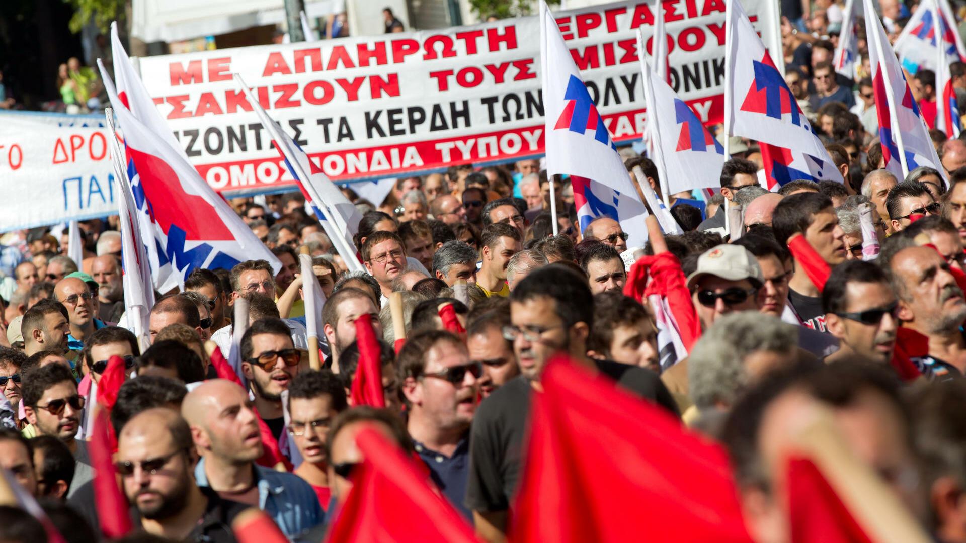 Sparkurs führt in Depression: Weimarer Verhältnisse in Griechenland