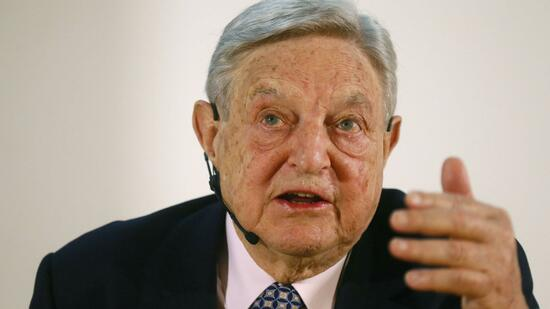 US-Starinvestor George Soros. Quelle: Reuters