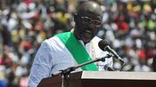 Liberia: Ex-Weltfußballer George Weah als neuer Präsident vereidigt