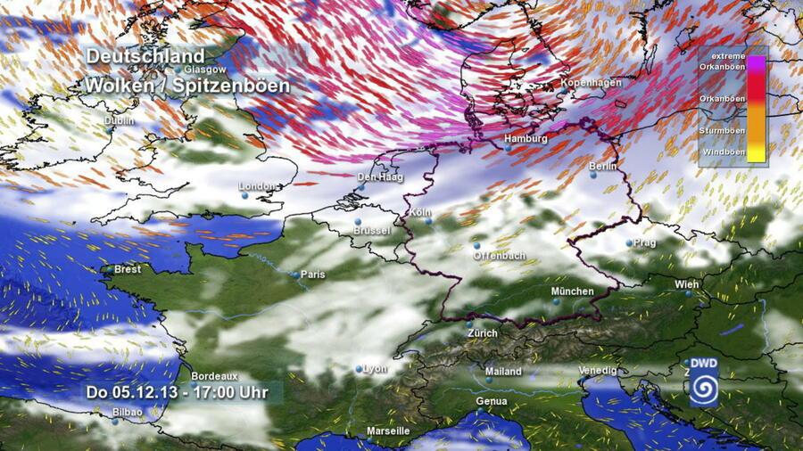 Sturm über Norddeutschland Liveticker