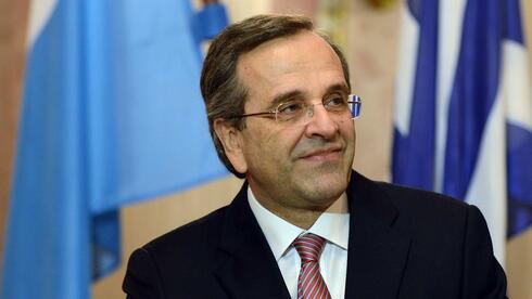 Der griechische Premier Antonis Samaras bei einem Besuch in der bayerischen Landeshauptstadt München. Quelle: AFP