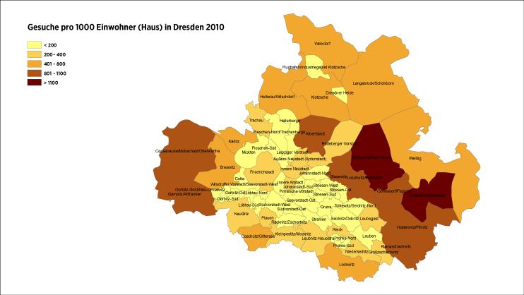 Dresden Stadtteile Meiden