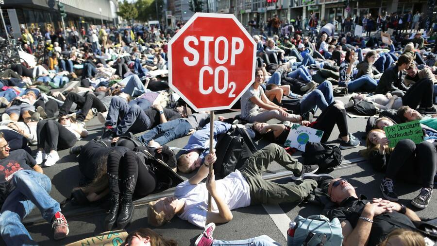 Klimastreik Düsseldorf