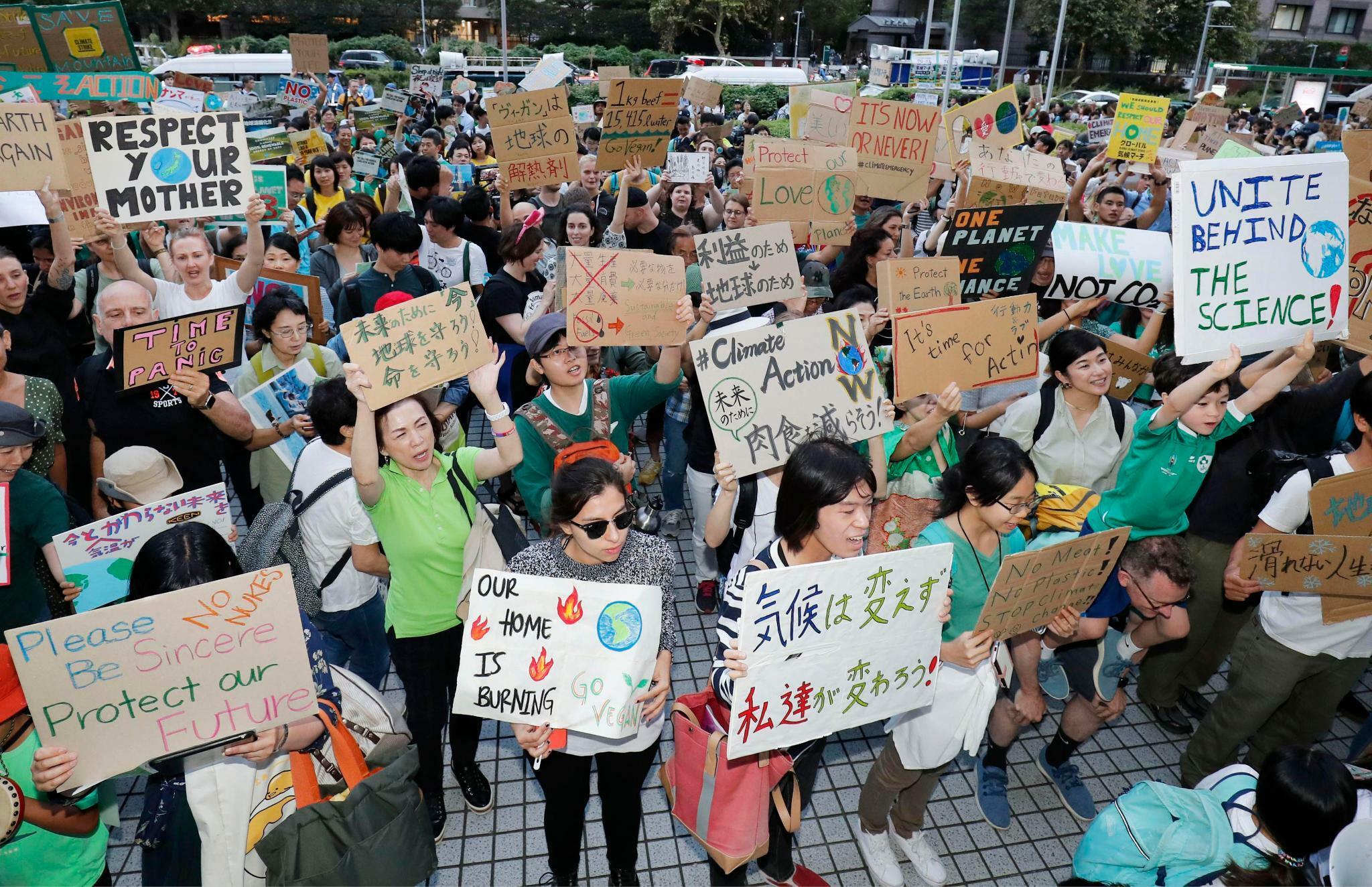 Wie die Klimaproteste auch in Japan Fuß fassen