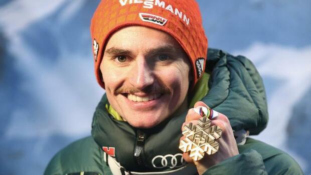 """Skispringen: Bronze nach Rückkehr für Freitag """"ein Traum"""""""