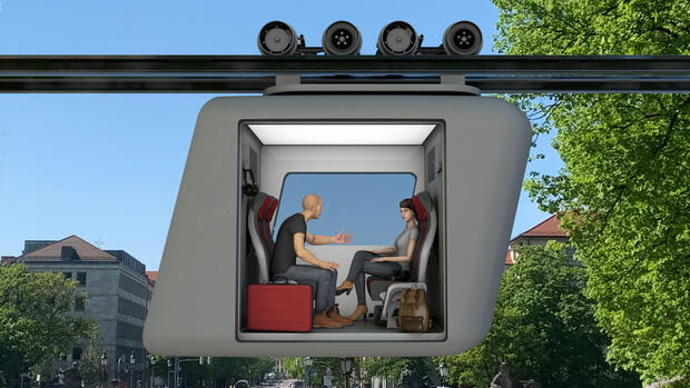 Start-up Ottobahn: Ein Autoexperte will mit einer Gondelbahn den Verkehr revolutionieren