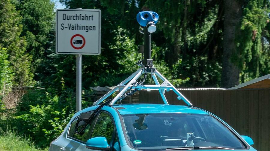 Apple schickt Kamera-Autos auf deutsche Straßen