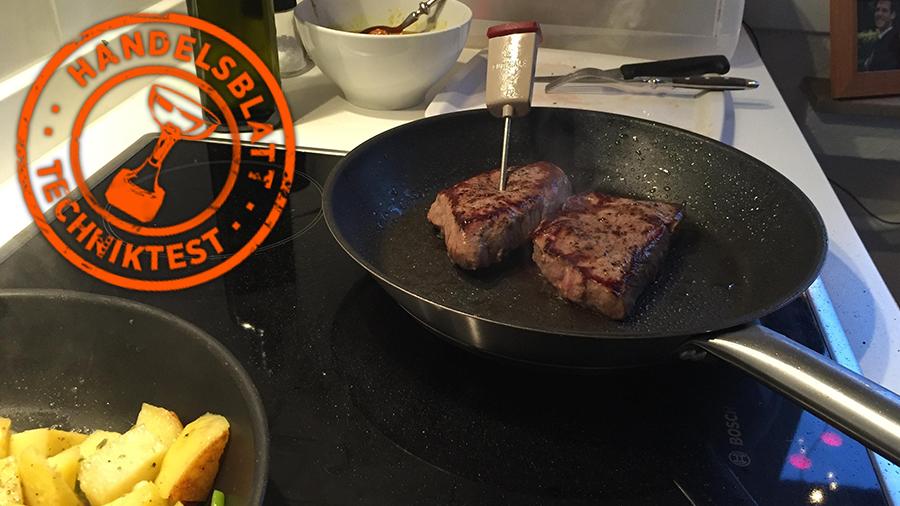 Küchengadget Gourmetpilot Im Test Steak Braten Es Gibt Eine App Dafür