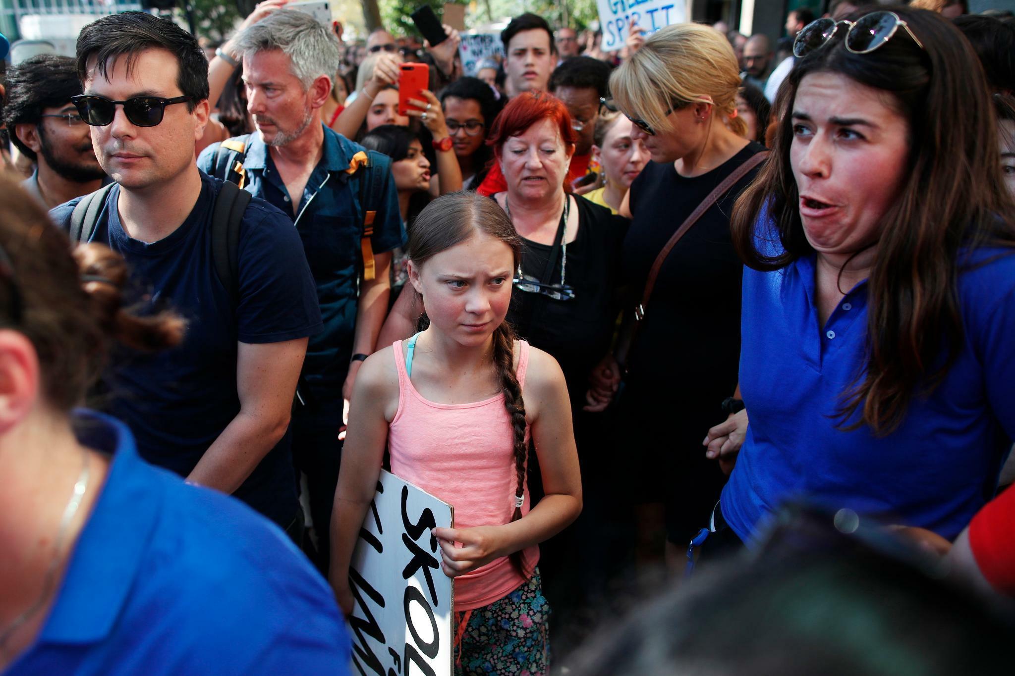 Greta Thunberg muss die USA vom Klimaschutz überzeugen
