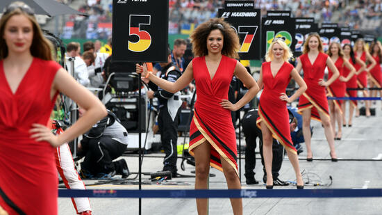 Formel 1 will die Grid Girls abschaffen