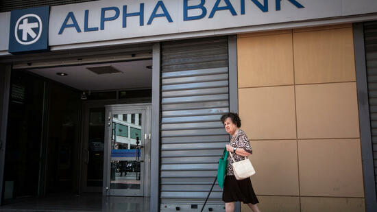 Griechische Bankaktien