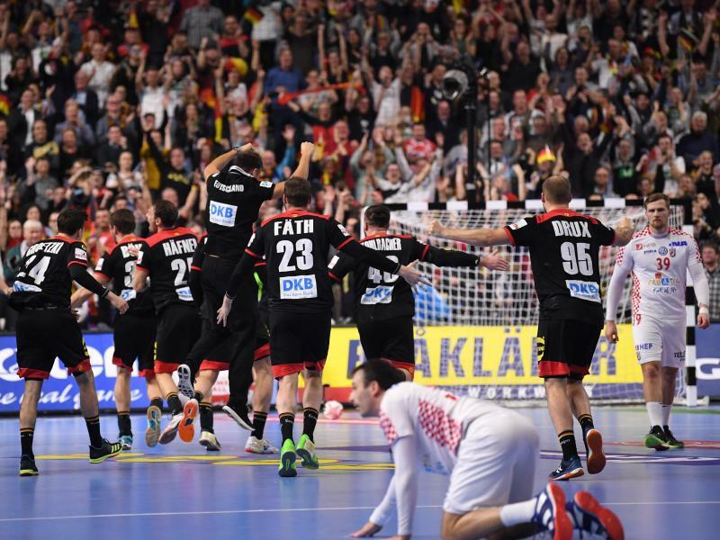Matchball verwandelt: Deutschland erreicht Halbfinale
