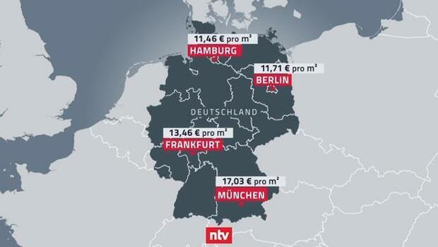 mietpreise in deutschland gro stadt flair zum mieten so teuer wird wohnen im neuen jahr. Black Bedroom Furniture Sets. Home Design Ideas