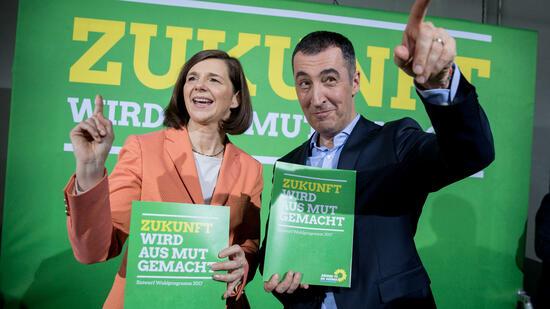 Grüne setzen Parteitag mit Abstimmung über Wahlprogramm fort